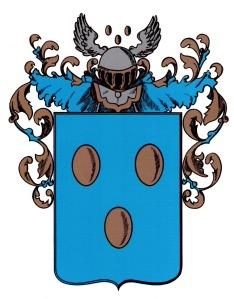 Het wapen van de gemeente Eibergen is rechtstreeks afgeleid van het oudere stadszegel. Alleen was de Hoge Raad van Adel, die het wapen in 1816 verleende, niet meer bekend met de oorspronkelijke kleuren van het wapen van de Heren van Borculo, waarvan het Eibergse wapen afgeleid was: rode bollen resp. eieren op een goudkleurige ondergrond.