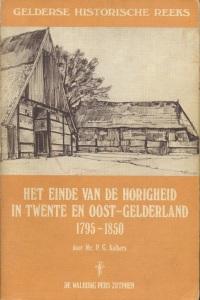 Met dit boek van Paul Aalbers begon in Oost-Gelderland de herontdekking van de horigheid en de strijd die tot diep in de 19de eeuw gevoerd moest worden om de laatste feodale restanten op te ruimen.