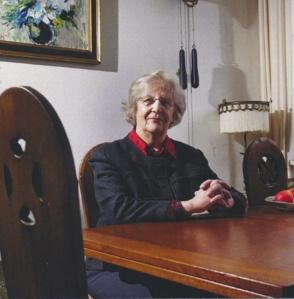 Truus Spliethof-de Vos, 1933-2014  (foto van rouwkaart).